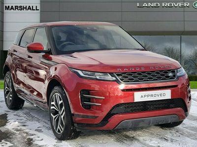 used Land Rover Range Rover evoque 2.0 D180 HSE 5dr Auto Hatchback 2021