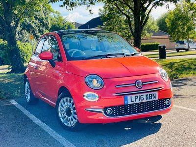 used Fiat 500 1.2 8V Lounge Hatchback 3dr Petrol Manual (s/s) (69 bhp)