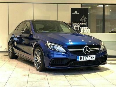 used Mercedes C63 AMG C Class 4.0V8 BiTurbo AMG (Premium) SpdS MCT (s/s) 4dr