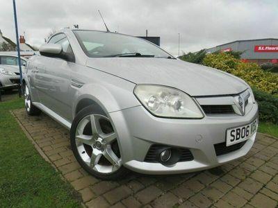 used Vauxhall Tigra 1.4 EXCLUSIV 16V 2d 90 BHP