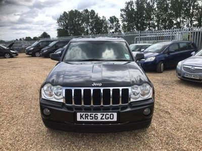 used Jeep Grand Cherokee 3.0 CRD V6 Limited SUV 5dr Diesel Automatic 4x4 (270 g/km, 215 bhp)