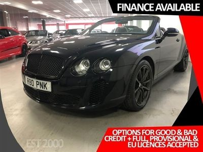 used Bentley Continental 6.0 SUPERSPORTS 2d 621 BHP
