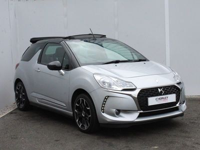 used DS Automobiles DS3 Cabriolet 1.6 BlueHDi Elegance 2dr