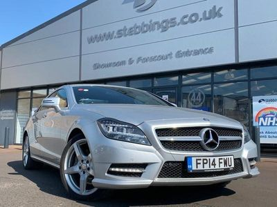 used Mercedes CLS350 CLS CLASS 3.0CDI BLUEEFFICIENCY AMG SPORT 4d 265 BHP diesel coupe