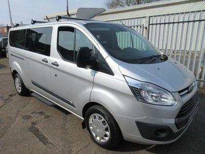 used Ford Custom Tourneo2.0 TDCi 310 Zetec Shuttle Bus L2 5dr (9 Seats)