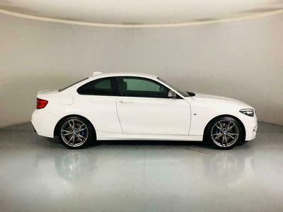 used BMW M240 2 SERIES 3.02d AUTO 335 BHP - SAT NAV. LEATHER. 1 OW coupe