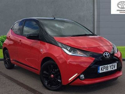 used Toyota Aygo 1.0 VVT-i x-cite 4 (Bi-tone Red) 5 Door