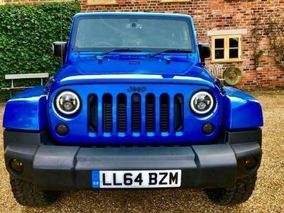 used Jeep Wrangler Hardtop 2.8 CRD Overland 2d Auto