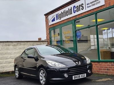 used Peugeot 307 CC Coupe 1.6 Allure 2d