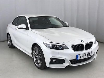 used BMW 220 2 SERIES d M Sport 2dr [Nav]