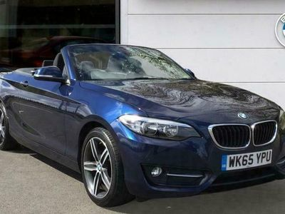 used BMW 220 d Sport Convertible