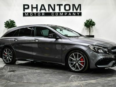 used Mercedes CLA45 AMG Shooting Brake Cla Class 2.0 AMG Night Edition SpdS DCT 4MATIC (s/s) 5dr