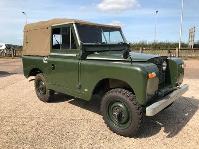 used Land Rover 88 4 Cyl 1966, not known, 62530 miles.