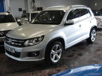 used VW Tiguan R LINE EDITION TDI BMT 4MOTION DSG