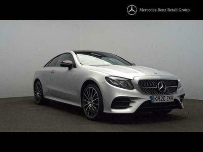 used Mercedes E400 E-Class4Matic AMG Line Premium Plus 2dr 9G-Tronic