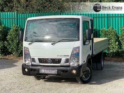 used Nissan Cabstar NT4002.5 DCI 35.14 DROPSIDE 136 BHP
