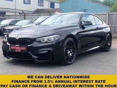 used BMW M4 4 Series 3.0COMPETITION 2d 444 BHP
