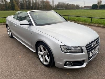 used Audi A5 Cabriolet 2.0T FSI S Line 2dr [Start Stop]