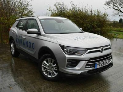 used Ssangyong Korando 1.6 D Pioneer 4x4 5dr Auto