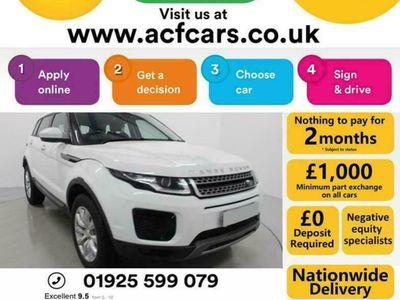 used Land Rover Range Rover evoque ED4 SE - CAR FINANCE FR £321 PCM