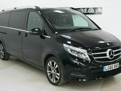 used Mercedes V250 V Class 2.2Sport G-Tronic+ XLWB EU6 (s/s) 5dr 8 Seat XLWB