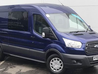 used Ford Transit 2.0 Tdci 130Ps H2 D/Cab Trend Van Auto