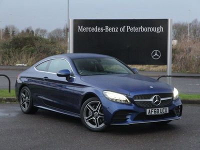 used Mercedes C200 C-Class4Matic Amg Line 2Dr 9G-Tronic