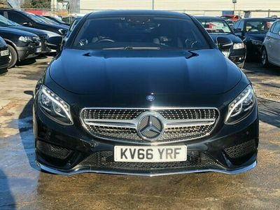 used Mercedes S500 S Class 4.7V8 AMG Line G-Tronic (s/s) 2dr