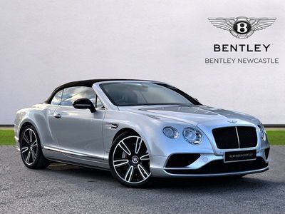 used Bentley Continental GTC 4.0 V8 S Mulliner Driving Spec 2dr Auto convertible