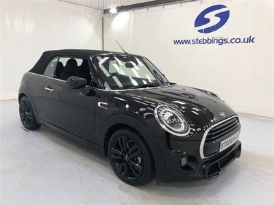 used Mini Cooper S Cabriolet 1.5 COOPER SPORT 2d 134 BHP LOW MILEAGE AUTOMATIC