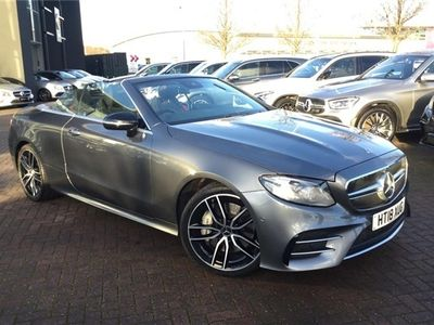 used Mercedes E53 AMG E Class Amg Cabriolet4Matic+ Premium Plus 2dr 9G-Tronic