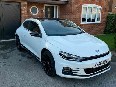 used VW Scirocco 1.4 TSI BlueMotion Tech GT Black Edition (s/s) 3dr