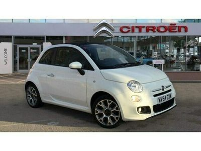 used Fiat 500 1.2 S 2dr convertible 2014