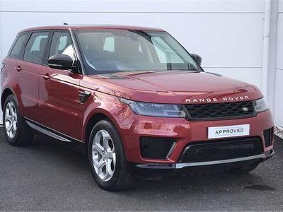 used Land Rover Range Rover Sport 2018 Scorrier SDV6 HSE