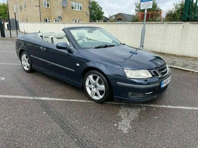 used Saab 9-3 2.0 Vector 1.8t Convertible 2d auto