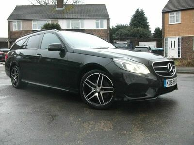 used Mercedes E220 E Class 2.1CDI BlueTEC AMG Night Edition (Premium) 7G-Tronic Plus 5dr