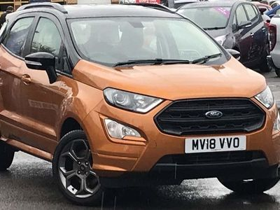 used Ford Ecosport 1.0 EcoBoost 125 ST-Line 5dr Auto