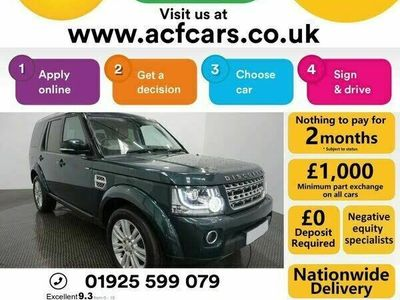 used Land Rover Discovery 4 3.0TD HSE