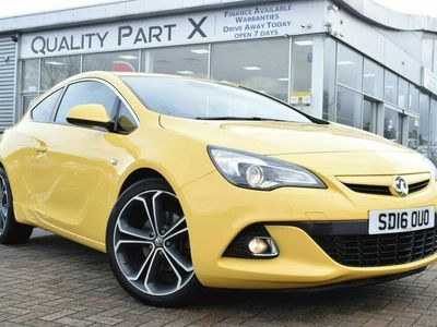 used Vauxhall Astra GTC 1.4i Turbo Limited Edition Auto 3dr