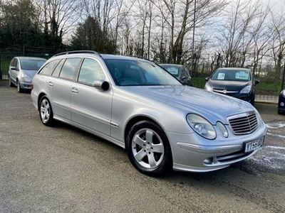 used Mercedes E320 E-Class 3.0CDI AVANTGARDE 5d 222 BHP