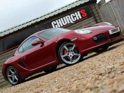 used Porsche Cayman 3.4 987 S - BOSE - RARE RUBY PAINT