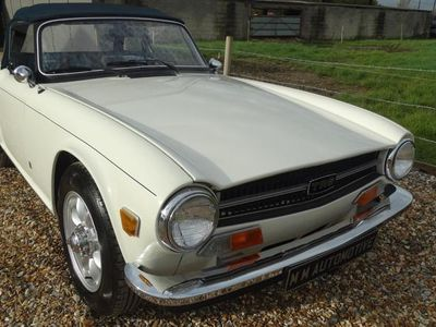 used Triumph TR6 MANUAL WITH OVERDRIVE 2-Door