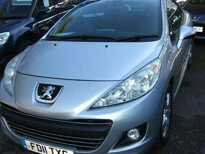 used Peugeot 207 CC 1.6 VTi Sport 2d