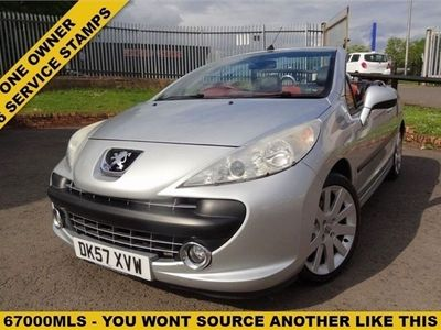 used Peugeot 207 CC 1.6 GT COUPE 2d 148 BHP