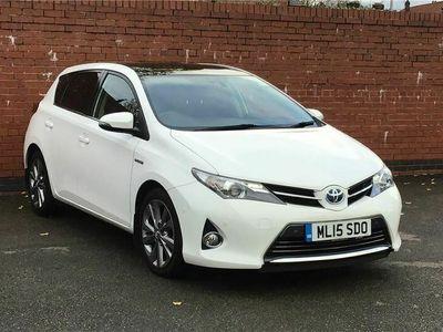 used Toyota Auris Hatchback 1.8 VVTi Hybrid Excel 5dr CVT Auto