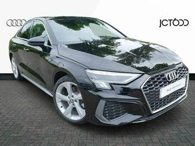 used Audi A3 35 TFSI S line 4dr saloon
