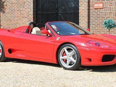 used Ferrari 360 Modena Spyder RHD
