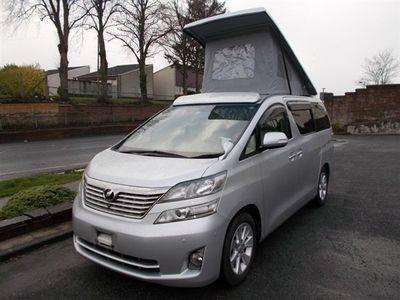 used Toyota Alphard Luxury Petrol Camper Van