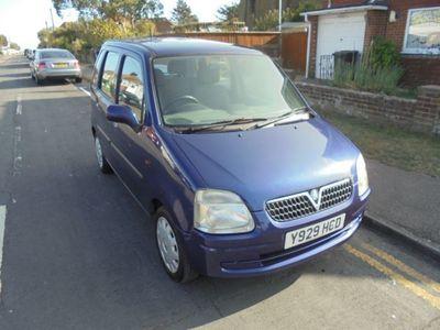 used Vauxhall Agila 16v