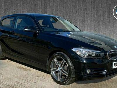 used BMW 118 1 Series d Sport 3-door